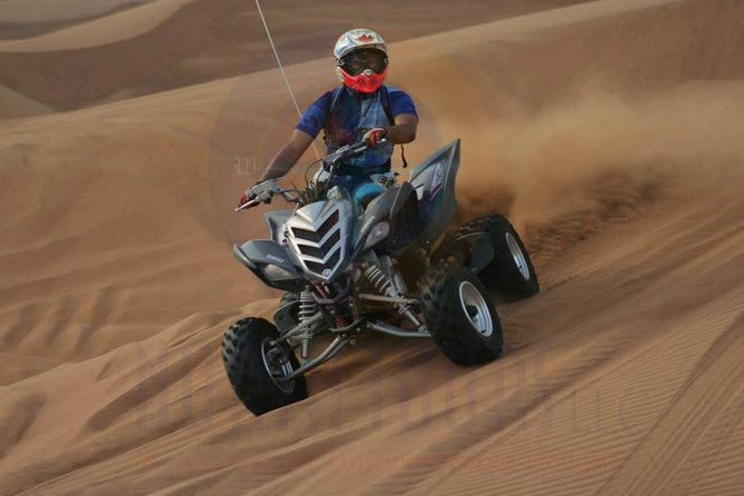 Dune Bashing with Quad Bike and Sand Boarding