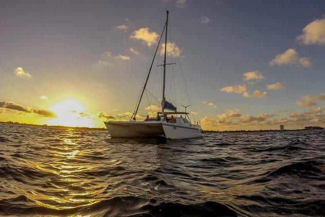 Half Day Catamaran Sailing Adventure to Isla Mujeres
