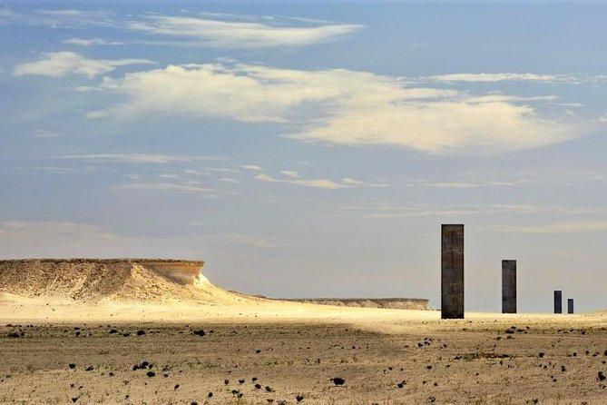 West Coast tour, Zekreet, Richard Serra Sculpture, Mushroom Rock Formation