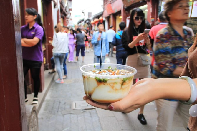 Excursão gastronômica de 4 horas na cidade de Qibao Water saindo de Xangai por metrô