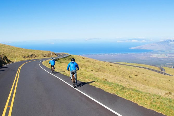 Haleakala Summit Best Self-Guided Bike Tour with Bike Maui