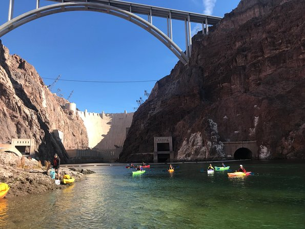 Colorado River Full Day Kayak Tour from Las Vegas