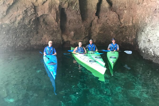 Emerald Cave Kayak Tour on The Colorado River from Las Vegas