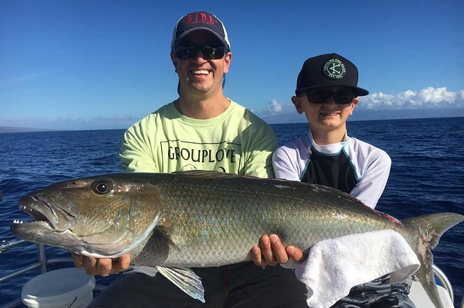 Maui Light Tackle Private Fishing Charter uit Lahaina