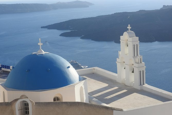 Santorini Sightseeing Half Day Private Tour