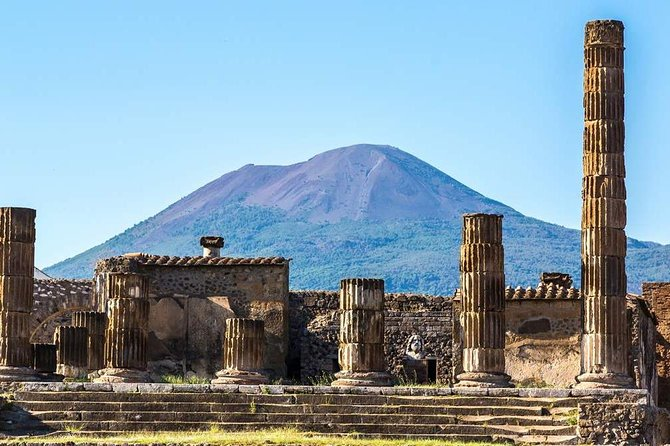 Pompeii and the Royal Palace of Caserta Private Full Day tour from Rome