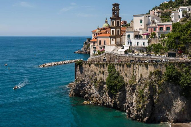 Ravello, Amalfi and Positano: Private tour from Rome