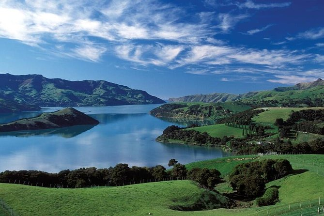 Akaroa Shore Excursion: Banks Peninsula and Christchurch City Sights Tour