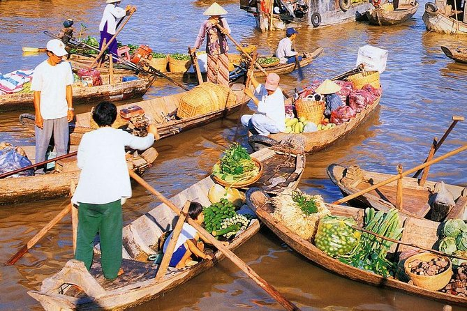 Private One Day Tour to Cai Rang Floating Market from Sai Gon
