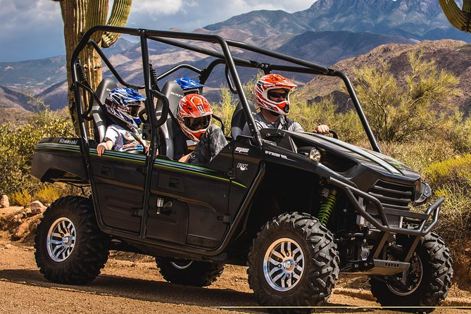 Sonoran Desert Guided UTV Adventure