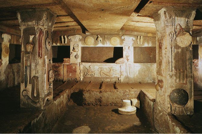 Self-guided all-day trip from Rome: Ancient Etruscan Necropolis of Tuscia