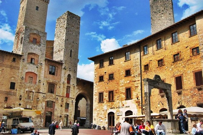 Full Day Private San Gimignano and Volterra Self-Guided Tour from Livorno