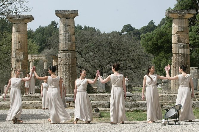 A full day private tour to Ancient Olympia and Corinth canal