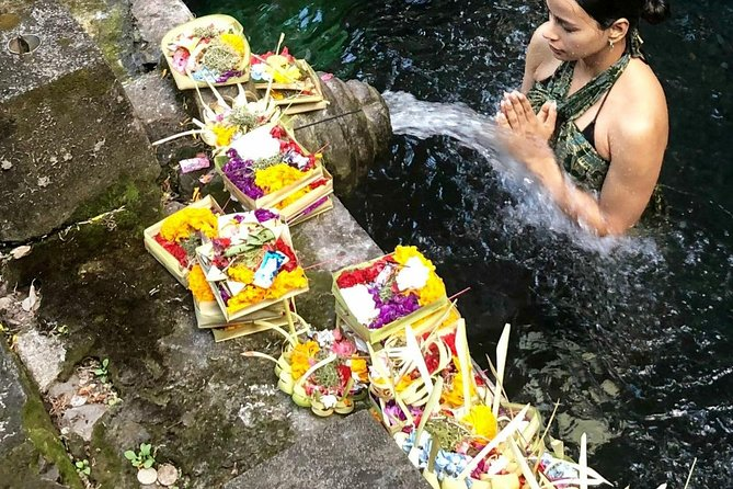 Ubud Temple Tour & Purification and Rice Terrace