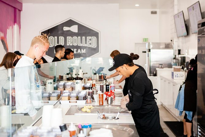 Roll It Like Beckham - The Rolled Ice Cream Experience