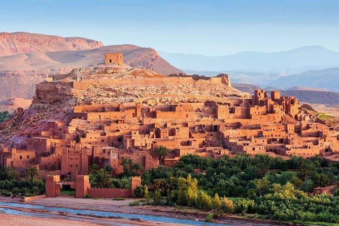 Stadstour ouarzazate en kasbah ait ben haddou