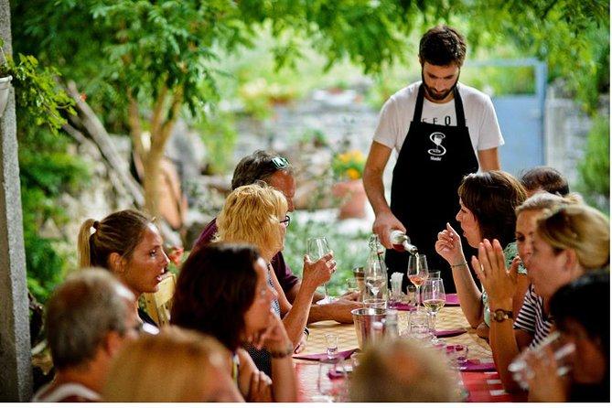 Private trip to NP Krka & Wine testing & Primosten from Split