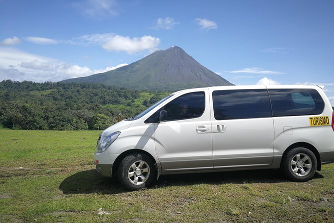 Ground Transportation From Arenal La Fortuna to Tamarindo Guanacaste!