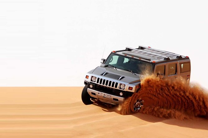 Private VIP Hummer Desert Safari Dubai in Morning