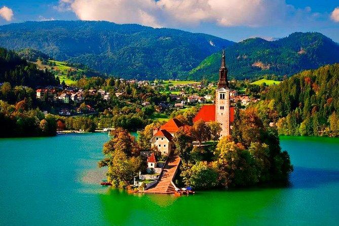 Tour Privato: Gita di un Giorno a Lubiana e Lago di Bled da Zagabria