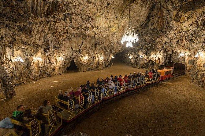Venezia til Zagreb med Postojna Cave tour