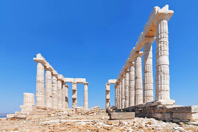 Cape Sounion Half Day Tour up to 4 customers