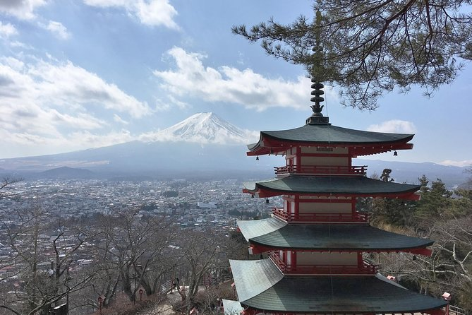 Exciting Mt,Fuji - One Day Tour from Tokyo