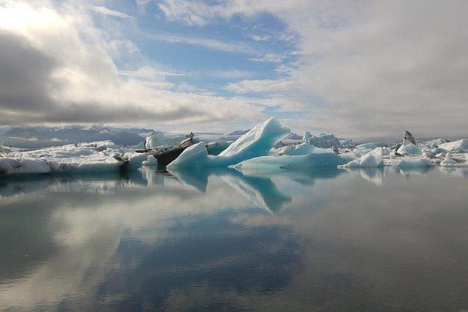 Jokulsarlon Glacier Lagoon, Diamond Beach, Black Sand Beaches, Waterfalls & more