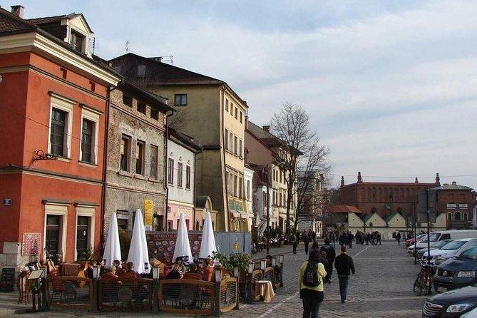 Jewish Quarter, Oskar Schindler's sites and Kraków under Nazi occupation