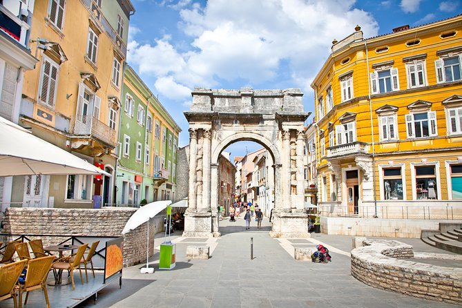 Colours of Rovinj and antique Pula including Amphiteatre visit and lunch