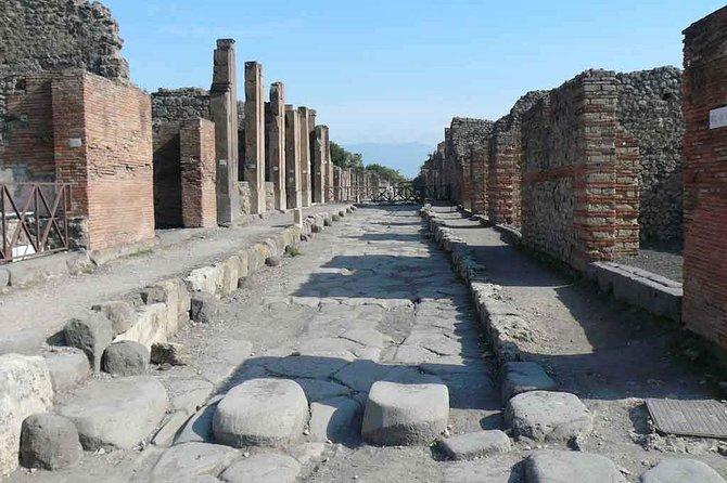 Transfer From Naples Railroad Station To Sorrento Via Pompeii
