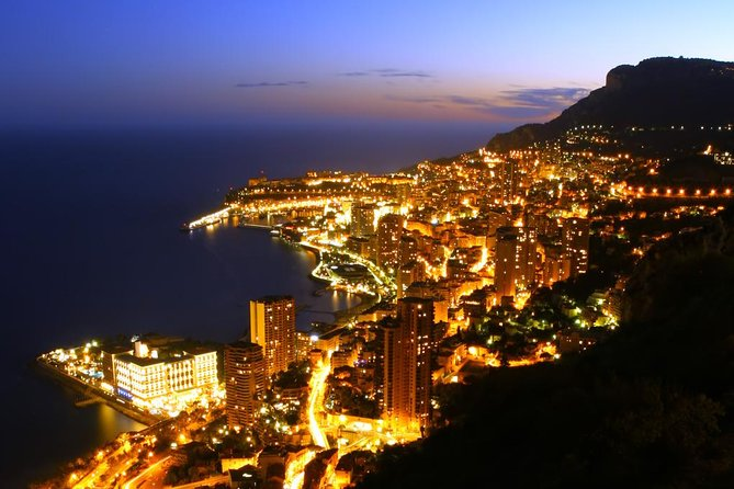 Private Tour of Monte Carlo by Night from Nice