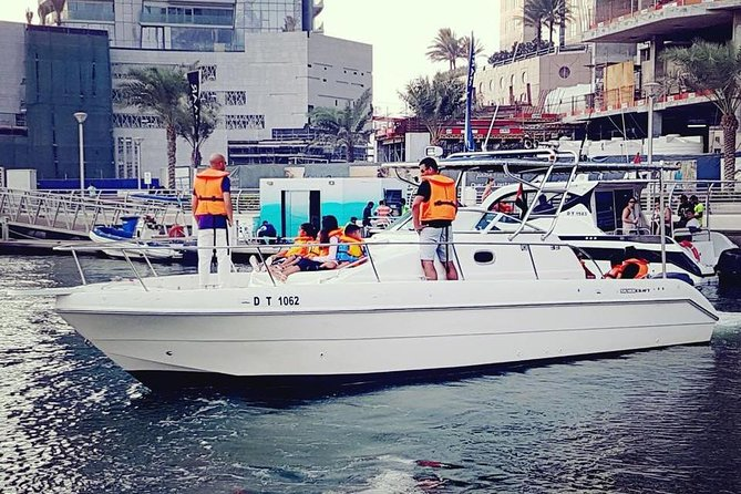 Fishing and cruising boat