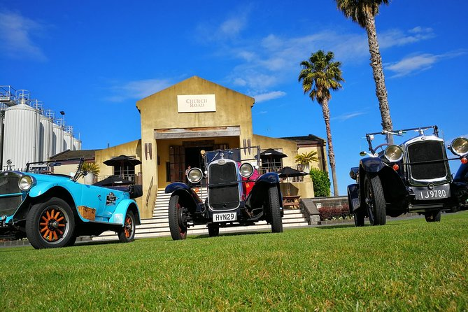 Shore Excursion: Full Day Bespoke Vintage Car Tour inc Lunch (Price per Car)
