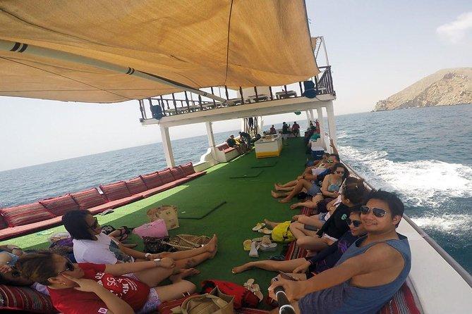 Full Day Musandam Dibba Cruise with Buffet Lunch from Dubai