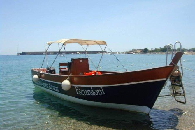 Taormina & Boat Excursion from Messina, Catania, Giardini Naxos