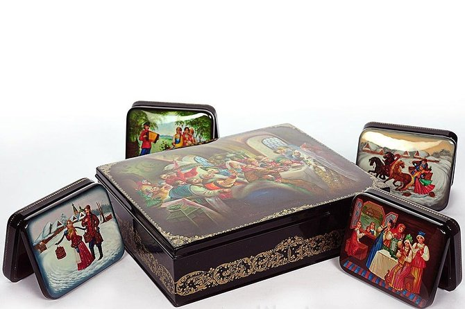 The Magnificent Fedoskino Papier-Mache Lacquer Boxes
