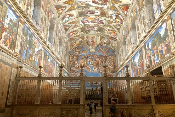 Sistine Chapel Express and St Peter Basilica