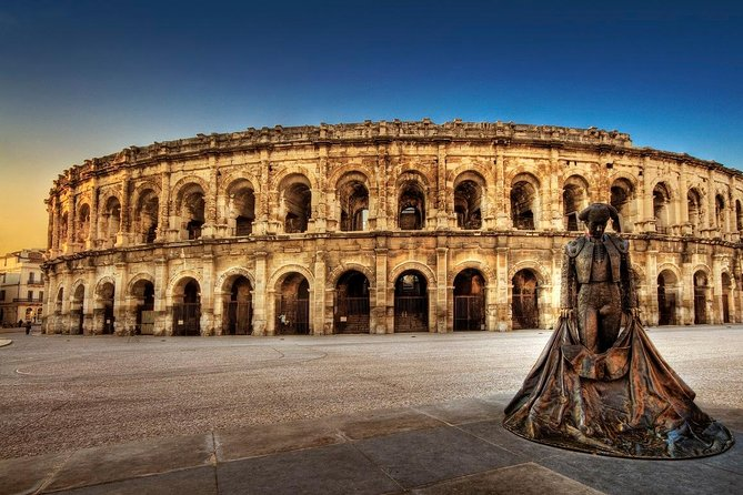 Private small group tour of Nimes and Pont du gard