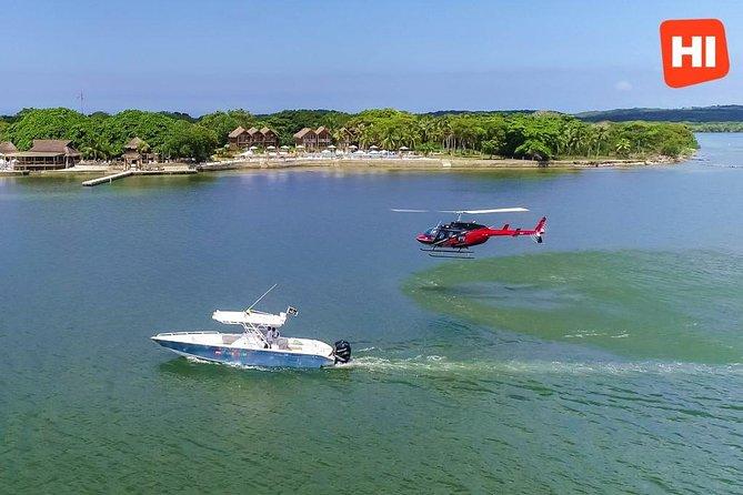 Helicopter Tour Cartagena - Island Magic