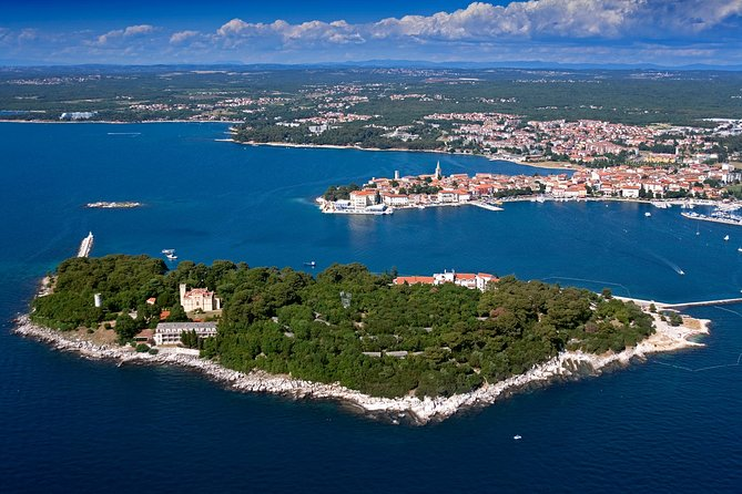 Sail away and relax on the boat day trip from Porec