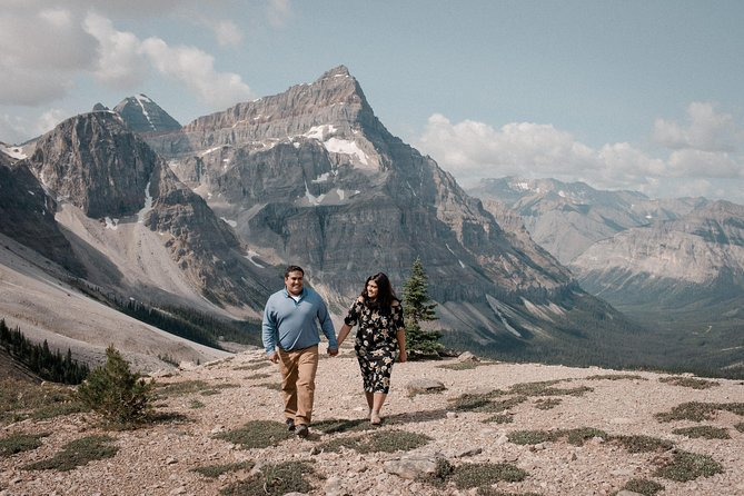 90 Minute Private Vacation Photography Session with Photographer in Banff