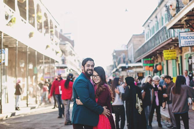 60 Minute Private Vacation Photography Session with Photographer in New Orleans