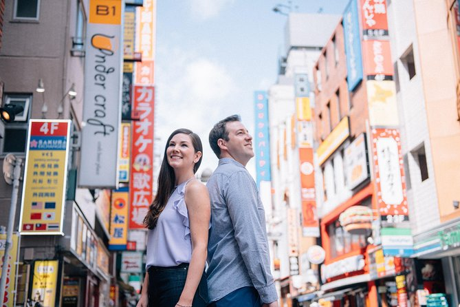 90 Minute Private Vacation Photography Session with Local Photographer in Tokyo