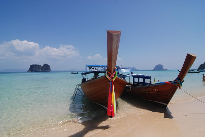 Full Day Island Hopping Tour By Long Tail Boat From Koh Lanta With Picnic Lunch