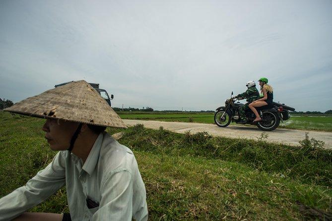 Experiência de aldeia por sidecar