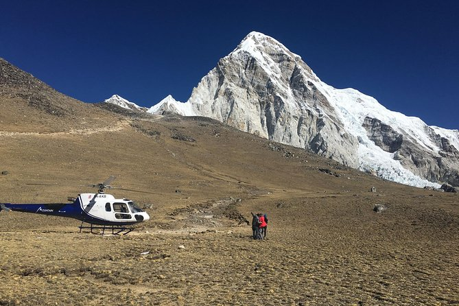 Private Everest Base Camp Helicopter flight with landing from Kathmandu day tour