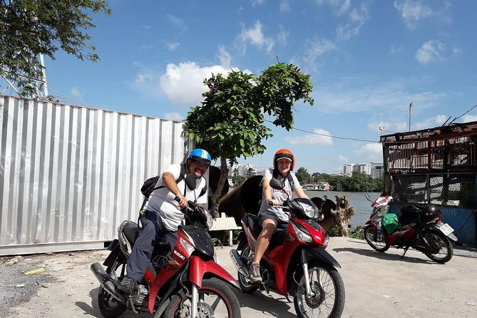 Saigon Local Sightseeing Tour with Motorbike