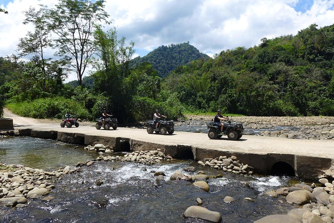 Cross rivers, rolling hills and scenic landscapes