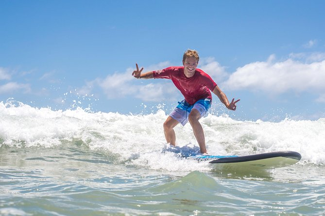 Merrick's Noosa Learn to Surf: 2 Hour group surfing lesson